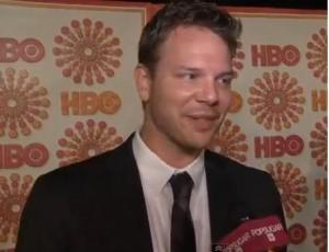 Jim Parrack talks to Pop Sugar TV at the Emmys