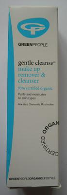 Green People Make Up Remover and Cleanser Review