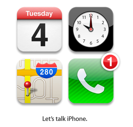 "Apple sends invites for October 2011 event: ""Let's talk iPhone"""