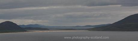 Landscape photo - sands at Scarista on Harris, Scotland