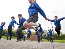 Heart Association School Fundraiser Keeps Kids Active.