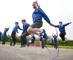 Heart Association's Jump for Heart School Fundraiser