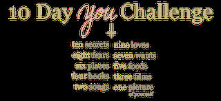 10 Day YOU Challenge Day #1