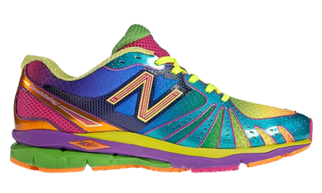 Technicolor running sneaks