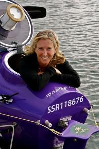Ocean Rowing: Roz Nears The Finish Line
