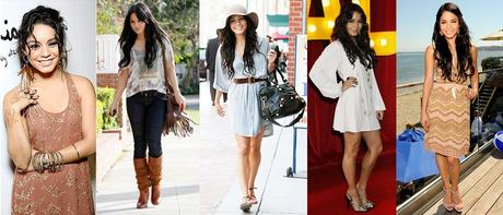 Vanessa is a bold daring and fearless fashionista with a strong bohemian