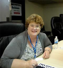 Charlaine Harris Interviewed at Bouchercon