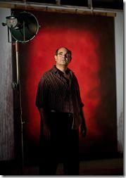 Edward Gero as Mark Rothko - Red at Goodman Theatre