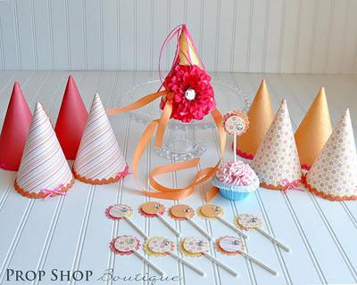 Beautiful Party Hats