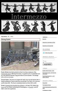 Intermezzo – an opera blogger whose actions speak louder than words