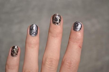 Metallic & Shattered Nails