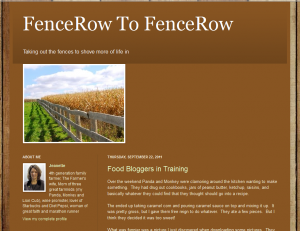 Indiana Blogs: FenceRow to FenceRow