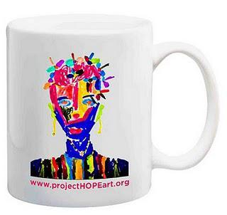 Coffee Mug Fundraiser for HOPE Art