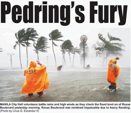 Typhoon Pedring (international codename: Nesat)