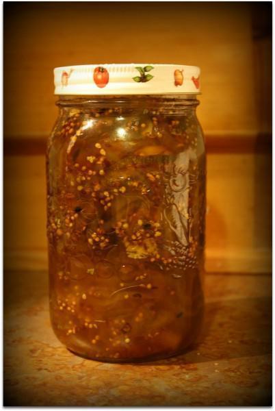 Munchie Mondays~Sweet Green Tomato Pickle