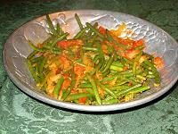 A Savory Twist on Green Beans