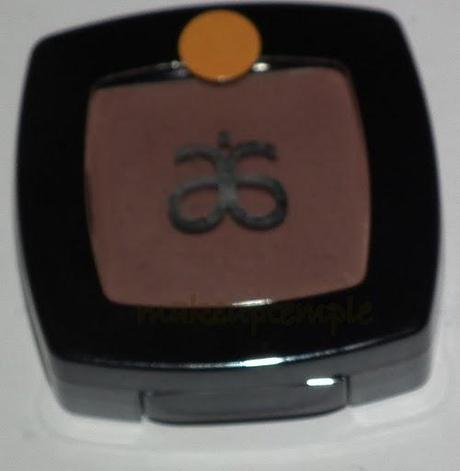 Swatches:Eye Shadow: Arbonne: Arbonne Java Eye Shadow Swatches