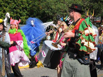 Puppet Parade, Hillsborough, NC
