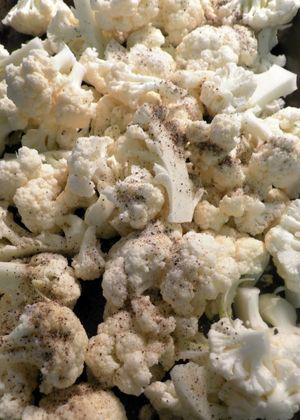 Sicilian cauliflower salad- Toss cauliflower florets