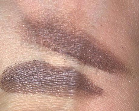Swatches: Eye Shadow:Arbonne: Arbonne Cabartnet Eye Shadow Swatches