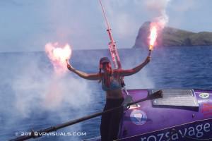 Ocean Rowing: Roz Is Done!