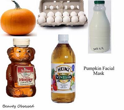 DIY: Pumpkin Facial Mask