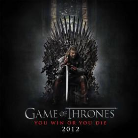 Game of Thrones poster 2012