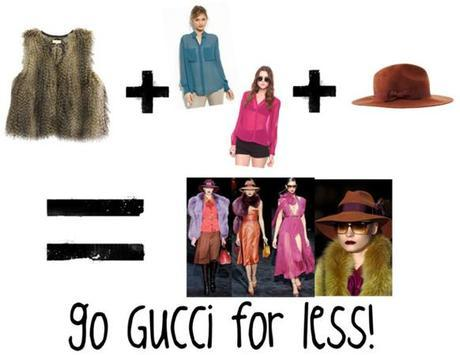 gucci1 Style, 3 Ways: How to Dress Well Using One Piece