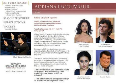 Adriana L. in NY, cast complete