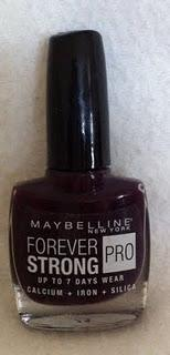 Maybelline Forever Strong Pro Nail Varnish Review  - How Strong is Forever Strong?