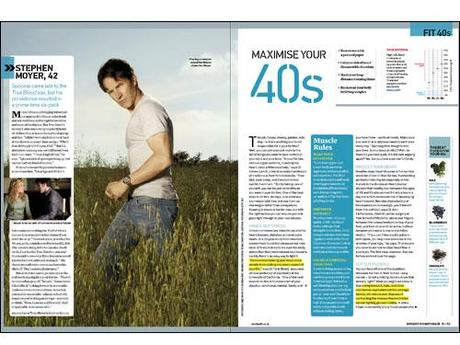 Ryan Kwanten and Stephen Moyer in UK Men's Health