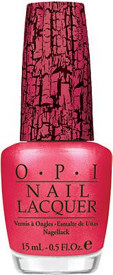 OPI 'Shatter Breast Cancer' with Pink Of Hearts Shatter Polish for Breast Cancer Awareness Month!