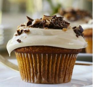 Spiced Pumpkin Cupcakes With Maple Frosting