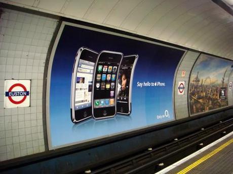 iPhone Transit Ad