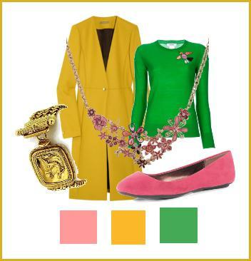 what to wear with a yellow jacket