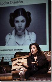Review: Carrie Fisher, Wishful Drinking (Broadway in Chicago)
