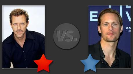 Celebufight Match: Hugh Laurie VS. Alexander Skarsgård