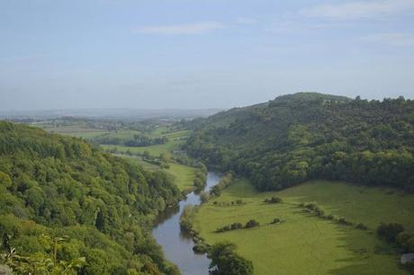 A Walk Along The River Wye at Symonds Yat Nr Ross-on-Wye
