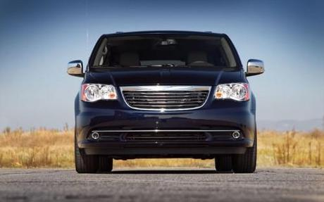 2011 Chrysler Town and Country Front View