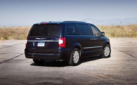 2011 Chrysler Town and Country Rear Angle View