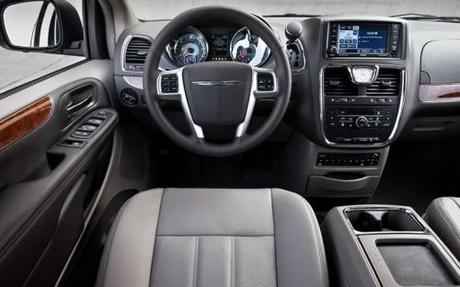 2011 Chrysler Town and Country Interior Photo