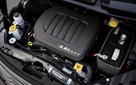 2011 Chrysler Town and Country Engine