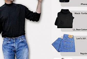 Steve Jobs Geek Chic Fashion Icon Black Turtleneck Sales