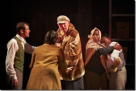 A scene from Lookingglass Theatre's 'The Great Fire,' written and directed by John Musial. (photo credit: Sean Williams)