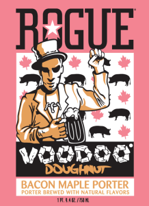 The Rogue Voodoo Doughnuts Maple Bacon Porter Poll Results Are In!