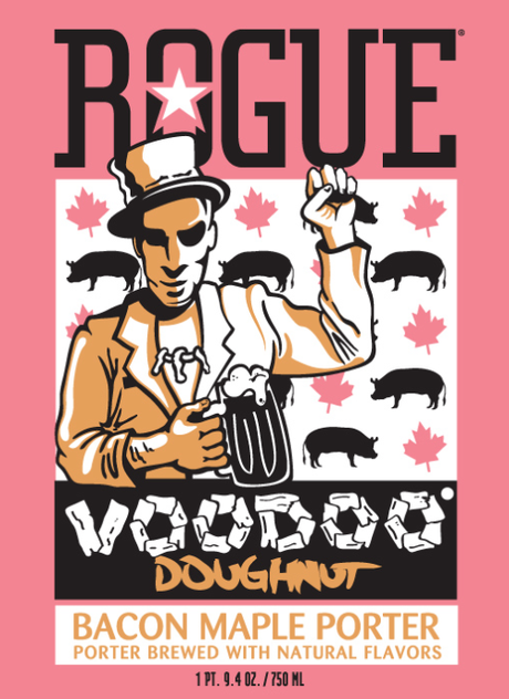 Craft Beer Poll! Would You Drink Rogue's Voodoo Doughnut Bacon Maple Porter?