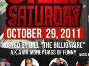 Billionaire Silly Saturday Oct.29th