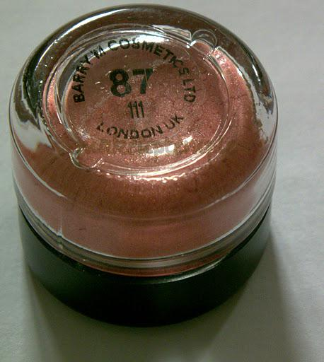 Swatches:Eye Shadow:Barry M :Barry M Dazzle Dust No:87 Coral Swatches