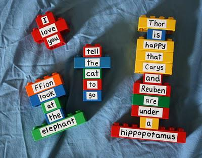 Friday Finds: DIY duplo word spellers