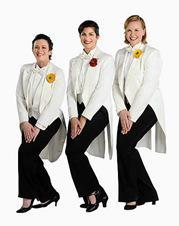 Tiffany Desmond, Amy Brophy and Brianna Borger - Rodgers and Hart, Light Opera Works Evanston